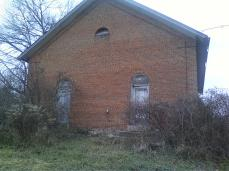 one room schoolhouse front 2013