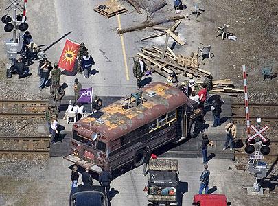 Tyendinaga rail block 2007