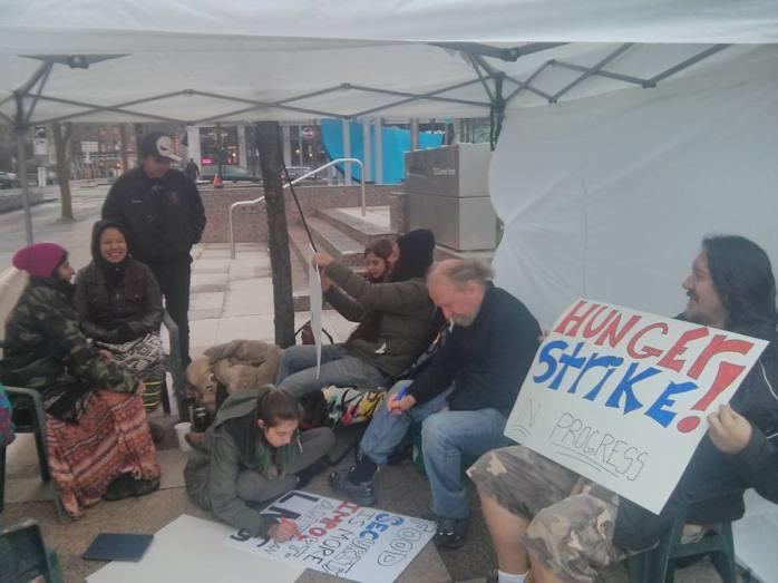 Site C hunger strike 1